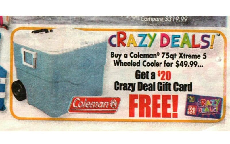 Game Day & Camping Must.. at a CRAZY DEAL!! ;)