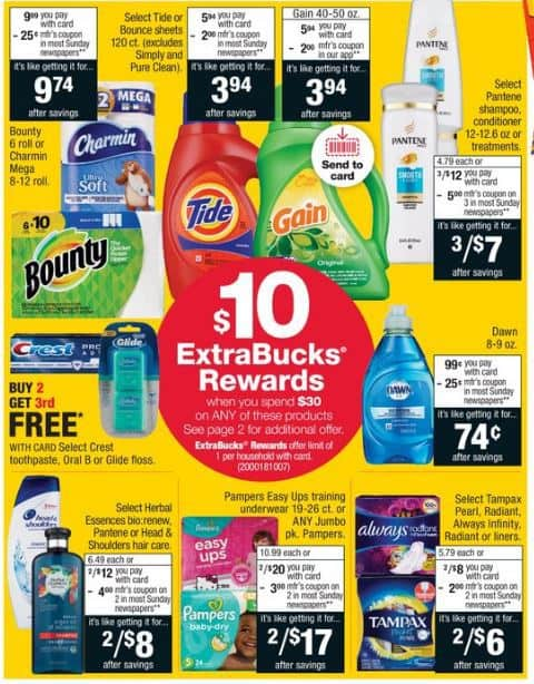 P G Deal Scenarios At Cvs How To Shop For Free With Kathy Spencer