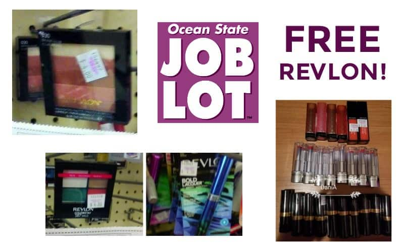 Last Day to Grab FREE REVLON from Job Lot!!
