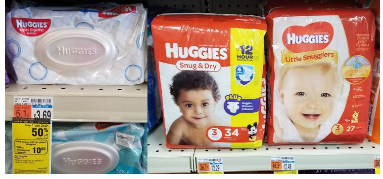 Pick up Huggies Diapers and Wipes for GREAT PRICE!