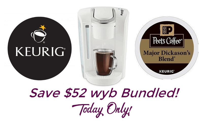 Keurig & K-Cup Bundle~ $99.99 Shipped!! (Today Only)