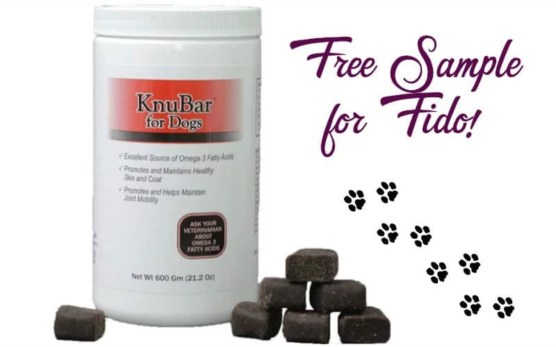 Request a FREE Sample of KnuBar Dog Treats!!