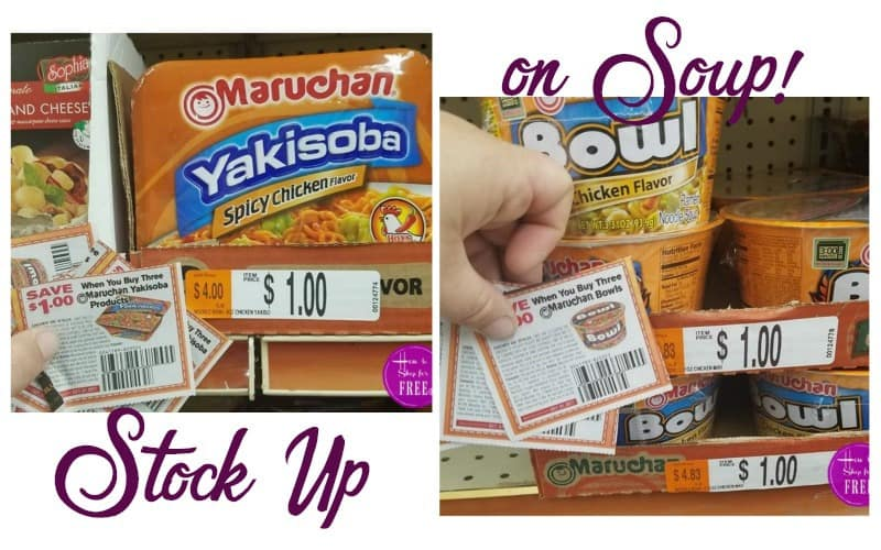 Stash Soups in Your Stockpile.. for a STEAL!!