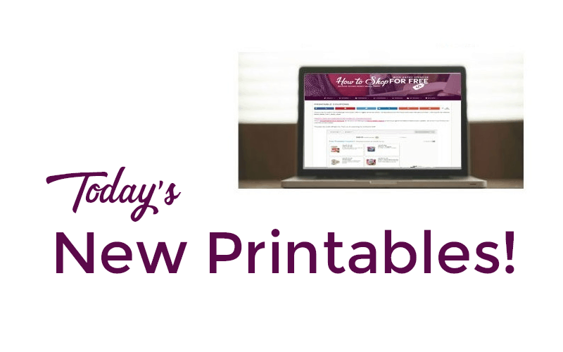 $60+ in NEW Printables for Sunday! (Apr. 22)