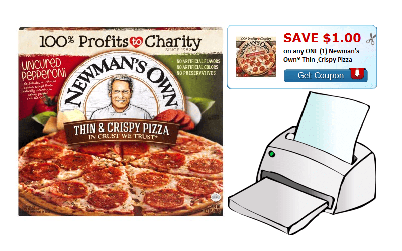 Save $1.00 on any ONE (1) Newman's Own® Thin & Crispy Pizza