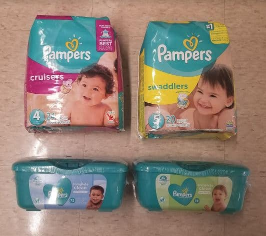 Great Pampers Diapers and Wipes Deal!
