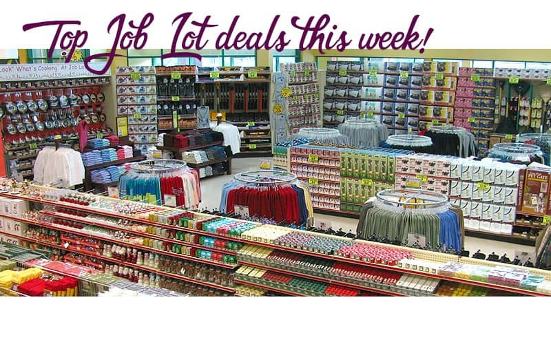 TOP Freebies & Deals at Job Lot, through April 25!