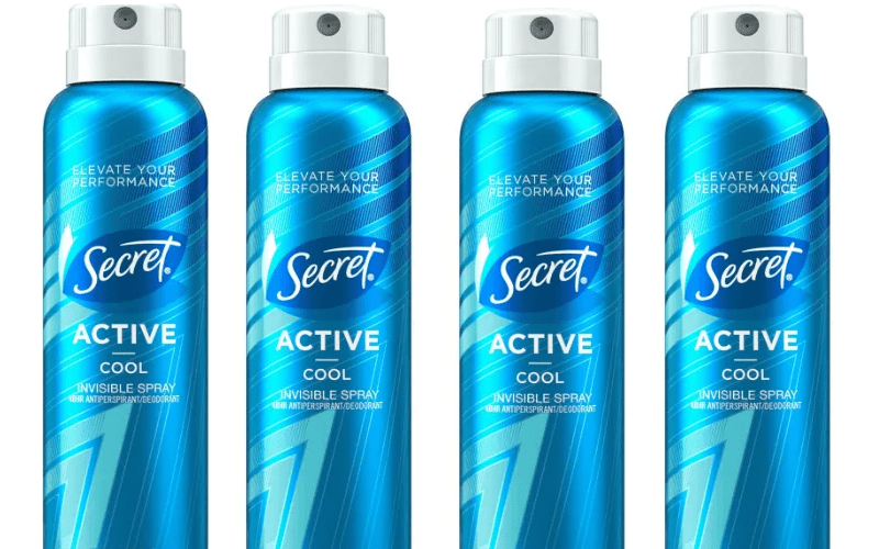 TODAY ONLY~ Secret Active Spray Deodorant for $1.00!!