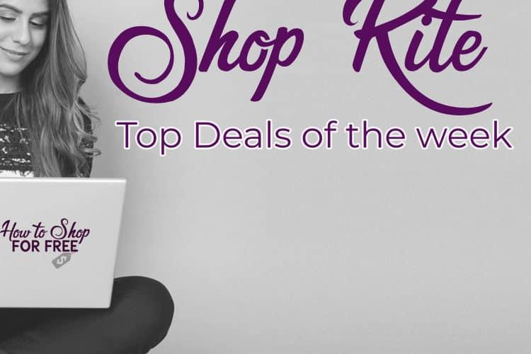 TOP DEALS at ShopRite 4/22 -4/28