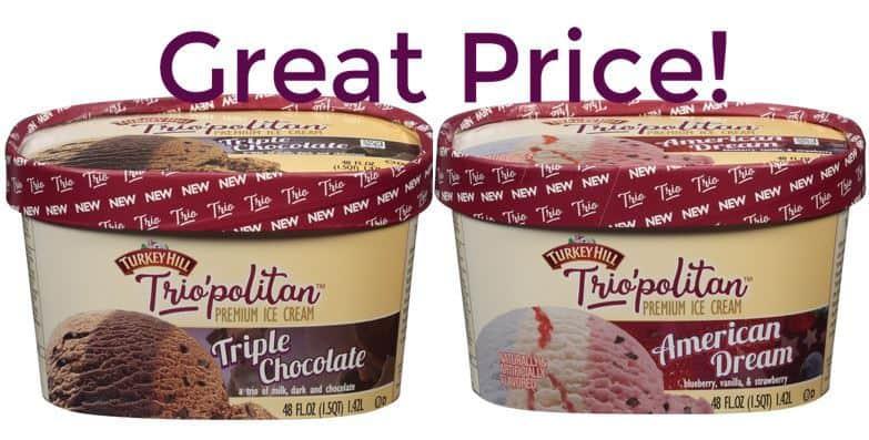 Stock Up on Turkey Hill Ice Cream!