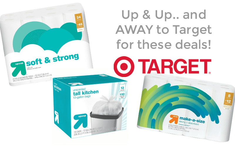 Up & Up… and Away to Target for these Household Needs!!!