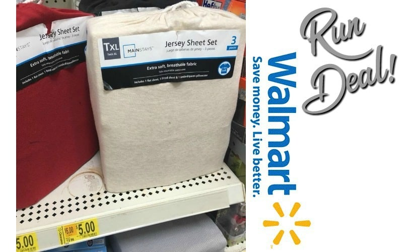 WOW, Check Your Walmart~ $5.00 Sheet Sets!!!!!!