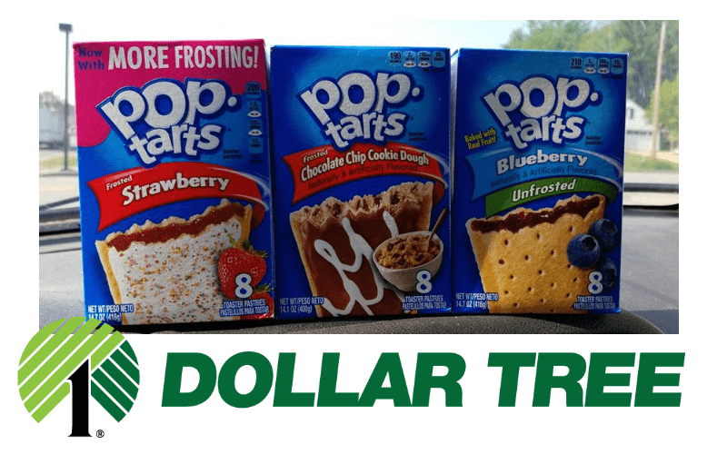 F-R-E-E Pop-Tarts from Dollar Tree Y'all!!!!!!
