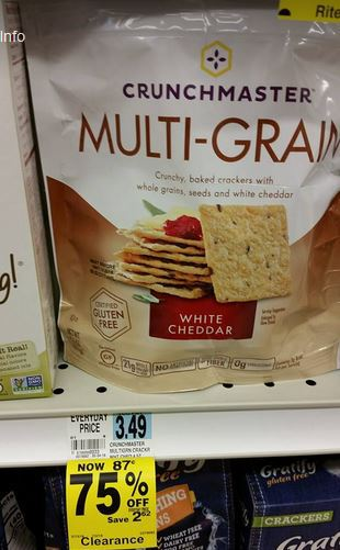 Run Free Crunchmaster Crackers At Rite Aid How To Shop For Free With Kathy Spencer