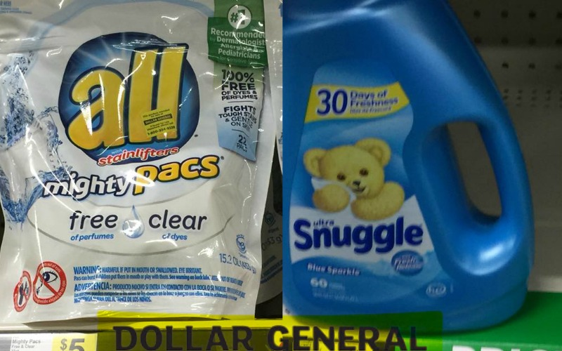 Snuggle & All Laundry Products Only $2.00!