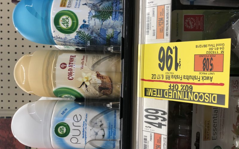 Hello 60% off Air Wick at Wegmans!