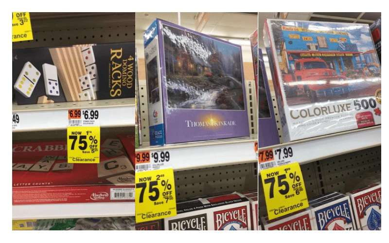 Get a Jump on Christmas Shopping at Rite Aid ~ 75% off Favorite Games & Puzzles!!