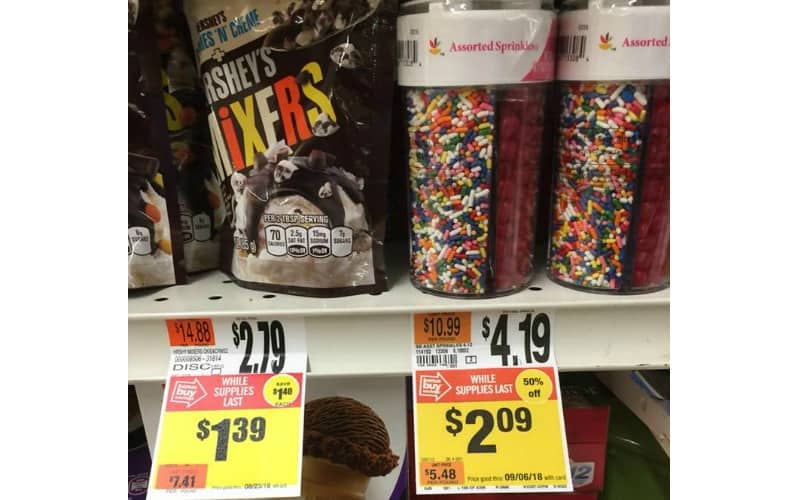 Stop & Shop: 50% Off Assorted Sprinkles and Hershey's Mixers!