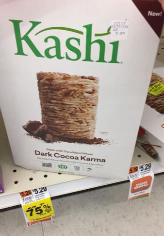 Rite Aid ~ Kashi Cereal 75% off!!