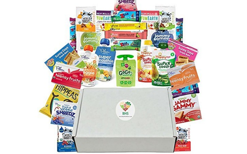 Win a Box Full of Organic Snacks for Kids