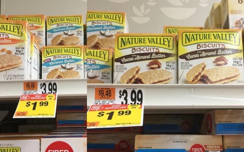 Over 50% Off Nature Valley Biscuits!
