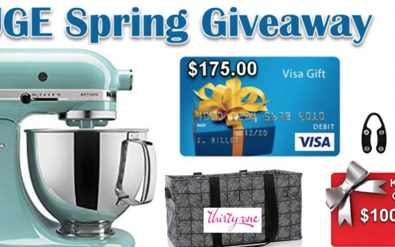 Enter to Win: Spring Giveaway