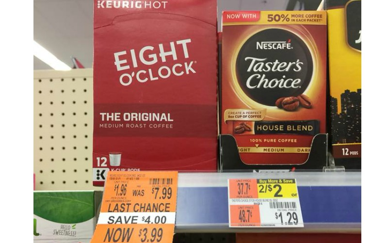 Eight O Clock K-Cups Only $3.99