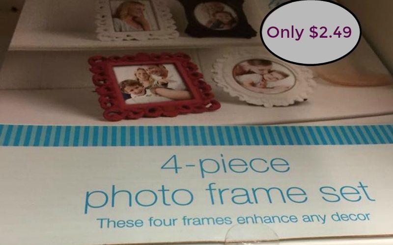 Walgreens 4 Piece Frame Set Only $2.49