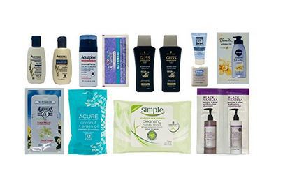 Women's Skin and Hair Care Sample Box
