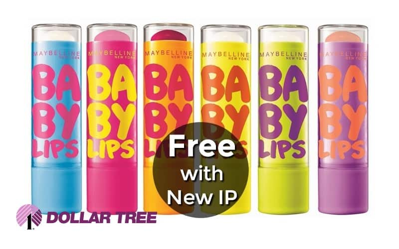 FREE Maybelline Baby Lips! 💋 NEW IP, Print Now!