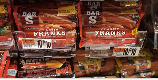 Pick Up Bar-S Hot Dogs For Your Next Barbecue for ONLY $.38!