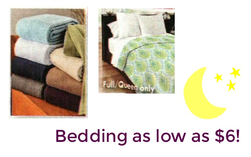 Quilts & Blankets as low as $6.00!! Starts Today!!