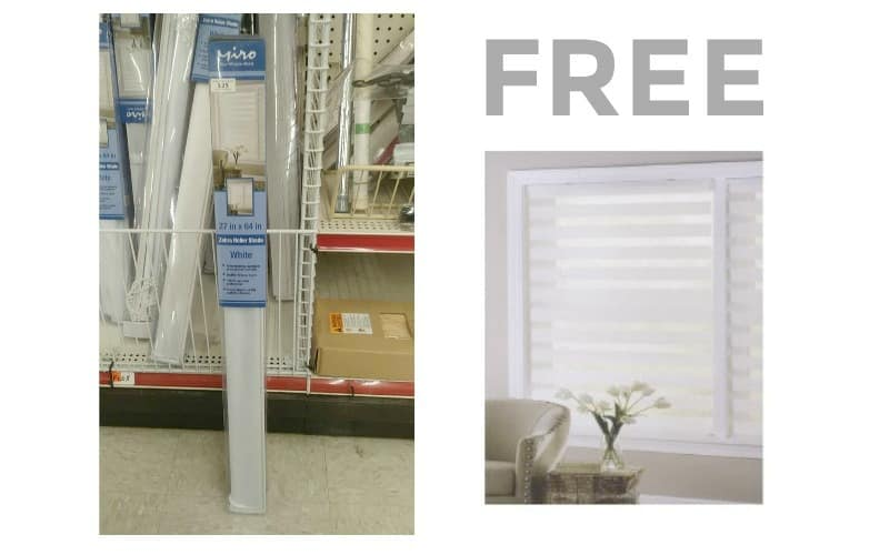 FREE Window Blinds~ This Job Lot Freebie Continues!