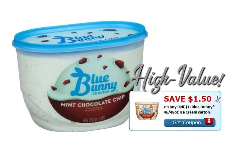 WOW~ $1.50/1 Blue Bunny Coupon!!!