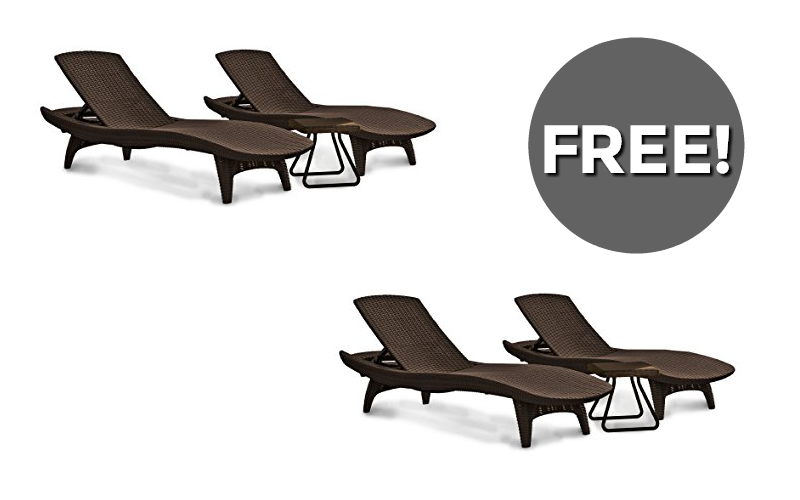 F-R-E-E Chairs for Poolside Lounging!!