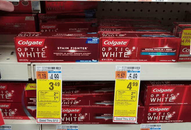 CVS Deal: 4 Colgate Toothpastes for BETTER than FREE!