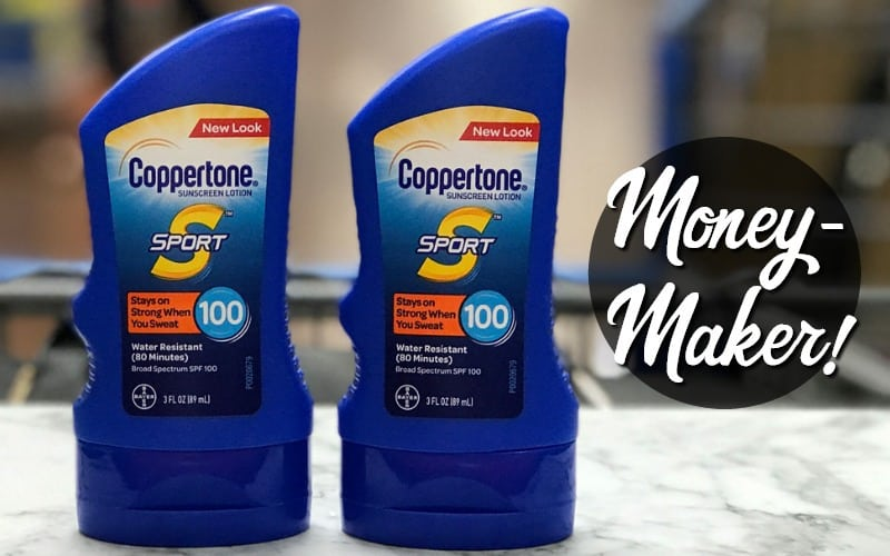 Coppertone Sunscreen OVERAGE ALERT at Walmart!!