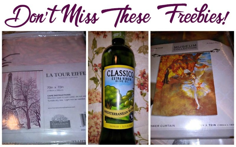 Mary Beth snagged these FREEBIES we posted.. Have You?!?