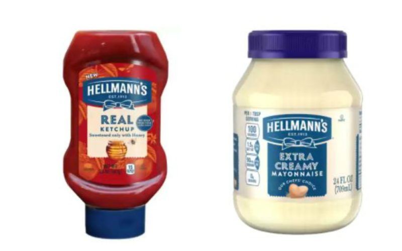 Hellmann's Mayo and Ketchup MM!