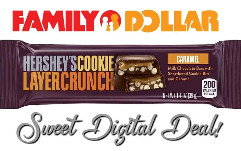 48¢ Hershey's Candy Bars~ Easy Digital Deal!!
