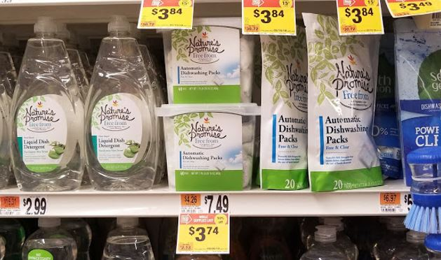 Stop & Shop Clearance Find: Nature's Promise Dishwashing Packs!