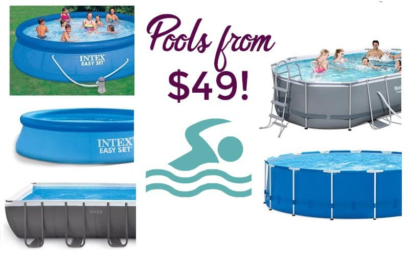 Stay Cool for the Summer!! Pools from $49!