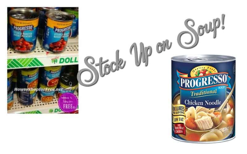 Heat Up Progresso Soup Over the Campfire!!
