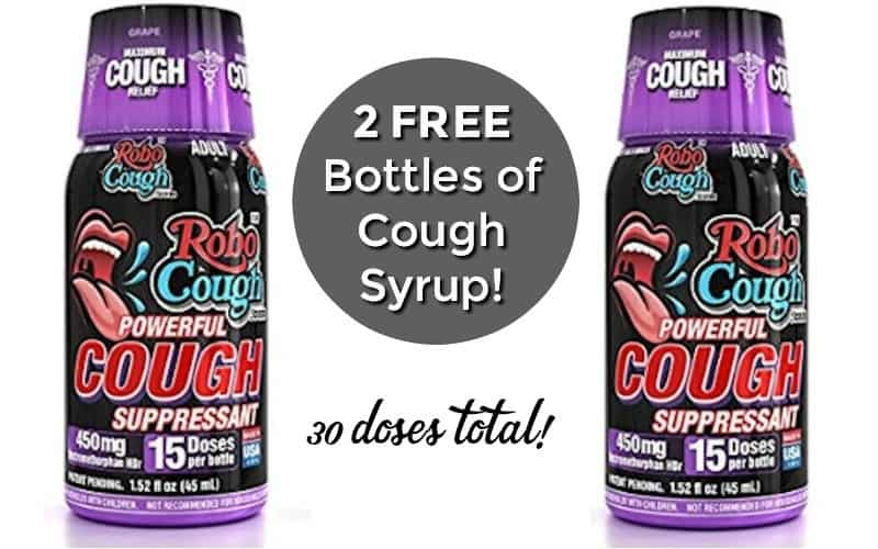 2 FREE Bottles of RoboCough Cough Syrup!