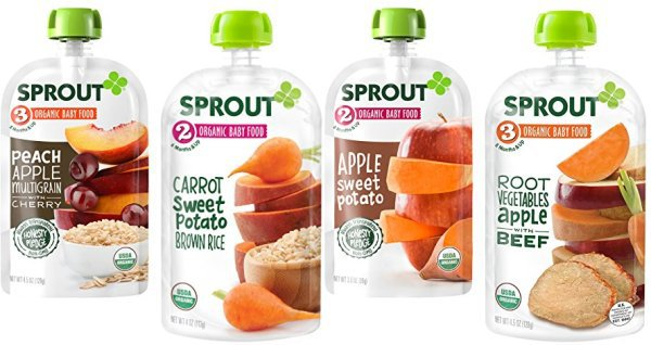 Sprout Organic Pouches for CHEAP!