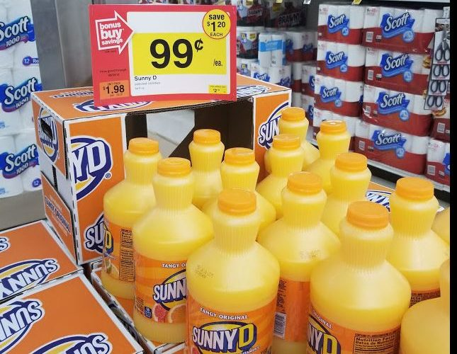 Sunny-D is still F-R-E-E! ~ New Coupon!