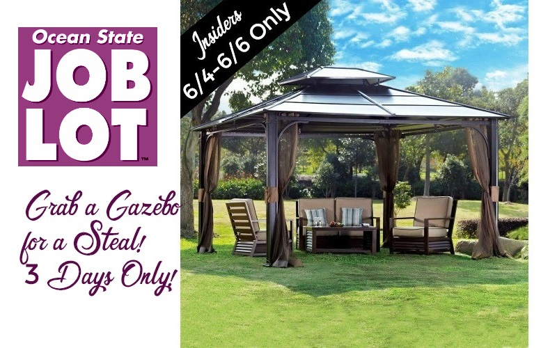 Gorgeous Gazebo for a Steal~ 6/4-6/6 ONLY!  sc 1 st  How to Shop for Free & gazebo | How to Shop For Free with Kathy Spencer