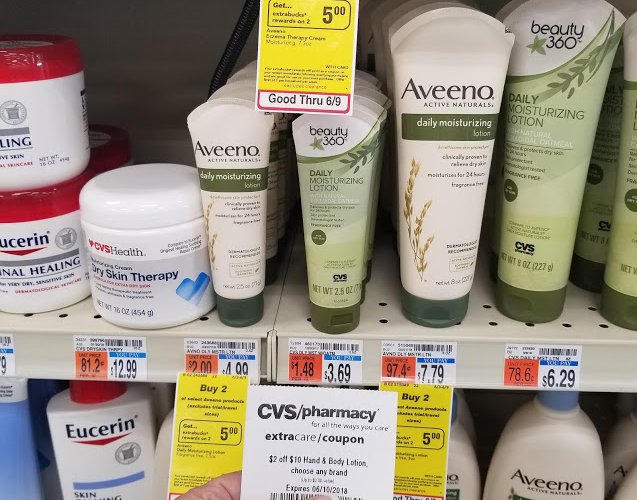 49¢ Aveeno Daily Lotion (Reg/$5) Through 6/9!