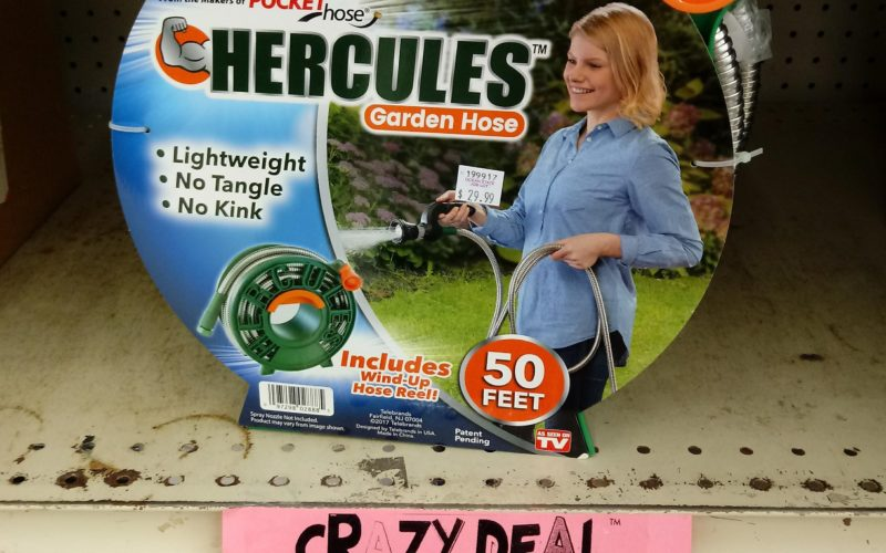 Hercules Can Help Handle Your Garden!!!