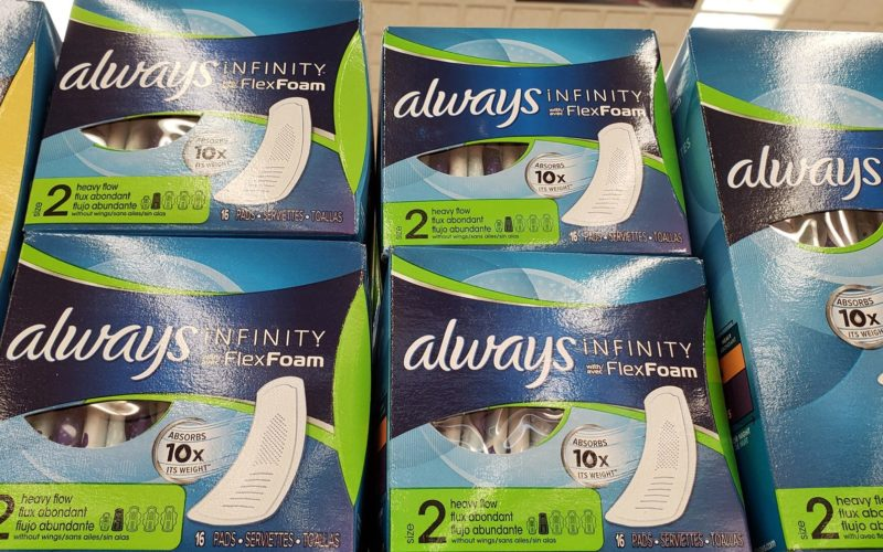 Always Radiant or Infinity Pads LESS Than 63¢ at Rite Aid 07/01 ~ 07/07!!